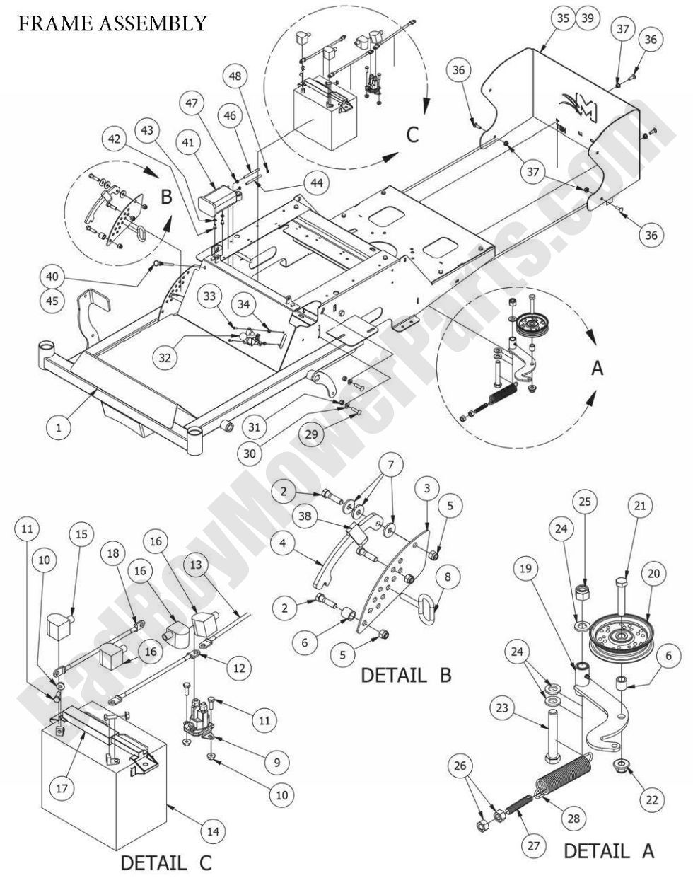 bad boy mower parts more information in addition bad boy mower deck parts furthermore bad boy mower parts
