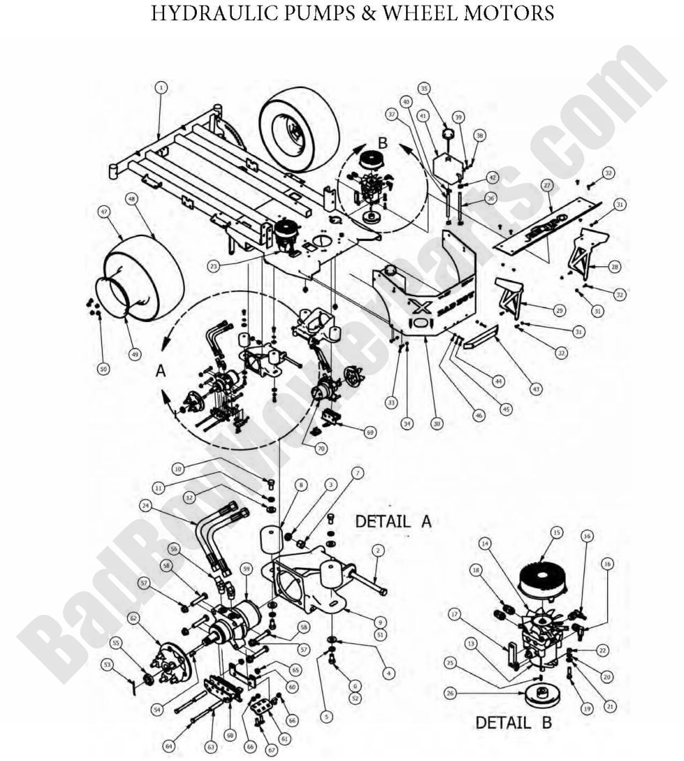 Dixie Chopper 60 Inch Deck Belt Diagram on riding mower wiring diagram