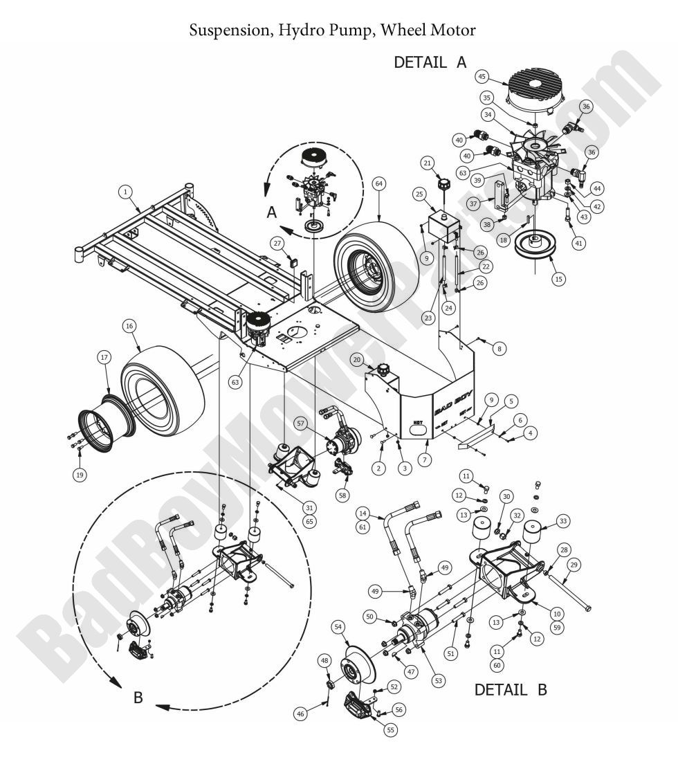 bad boy mowers wiring diagram 2015 outlaw xp hydraulic pumps  amp  wheel motors    diagram     2015 outlaw xp hydraulic pumps  amp  wheel motors    diagram