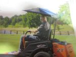 Bad boy mowers 088 1026 00 sun shade for zt and czt model for Canopy boys