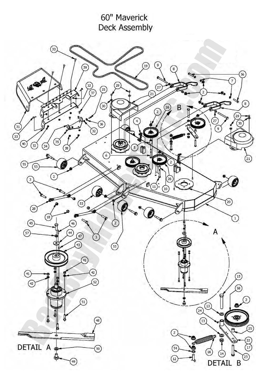 bad boy mowers wiring diagram    bad       boy       mower    parts 2016 maverick 60in deck assembly     bad       boy       mower    parts 2016 maverick 60in deck assembly