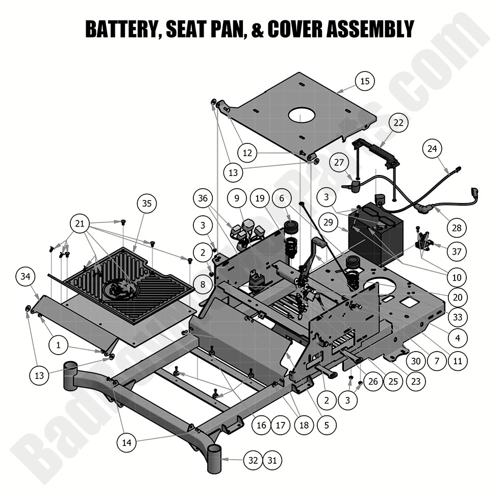 Excellent Bad Boy Mower Parts Lookup 2019 Zt Elite Battery Seat Pan Beatyapartments Chair Design Images Beatyapartmentscom