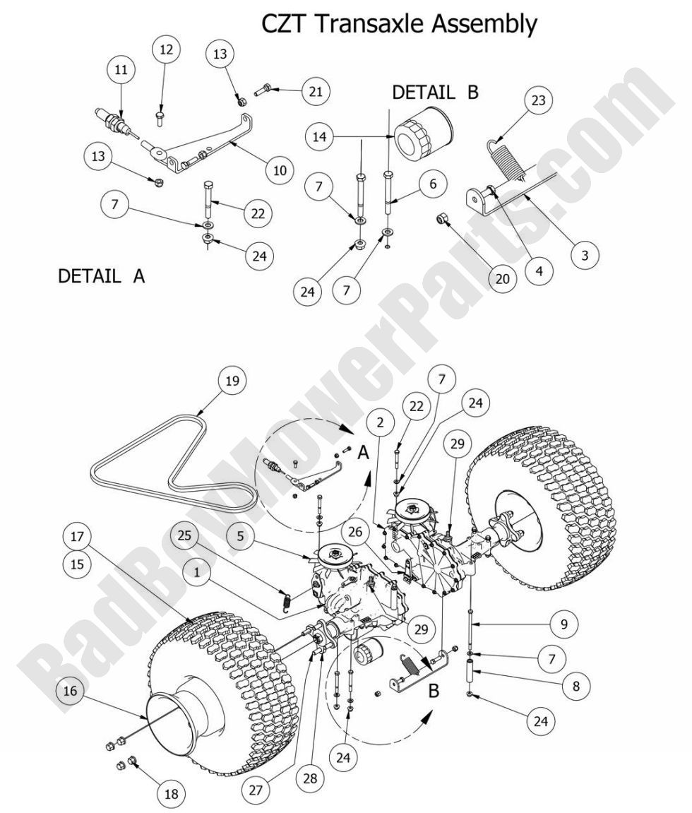 Bad Boy Mowers Electrical Diagram - ImageResizerTool.Com