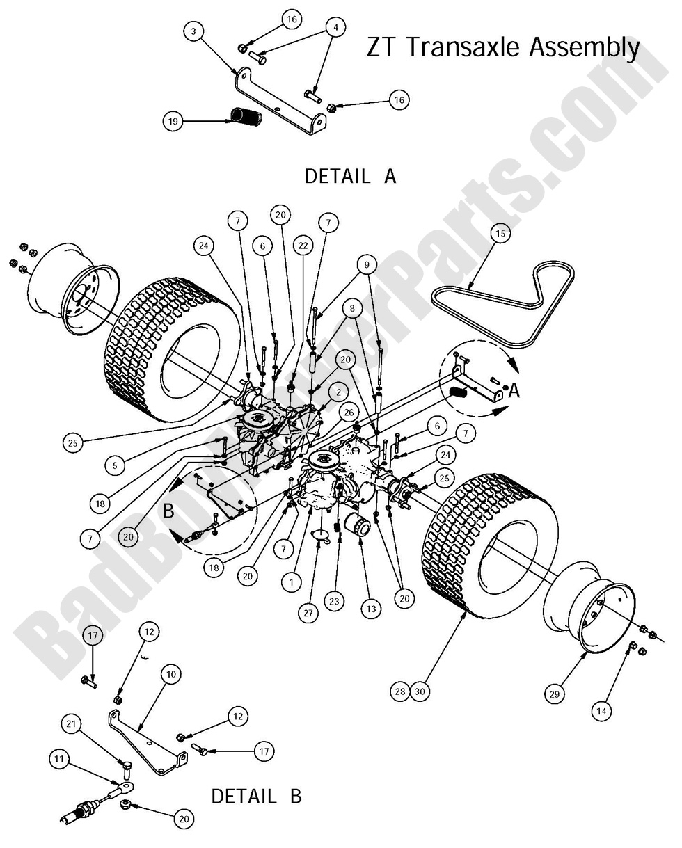 diagrams wiring   bad boy mowers parts diagram