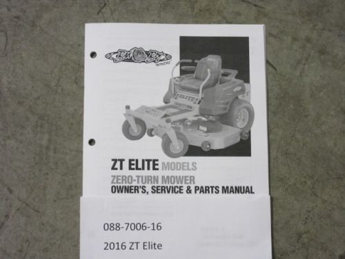 Bad Boy Mower Parts 088 7006 16 Manual Guide