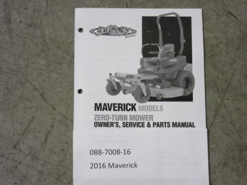 Bad Boy Mower Parts 088 7008 16 Manual Guide
