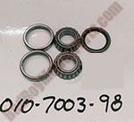 010-7003-98 - Front Caster Bearing, Race, and seal kit (Excluding MZ Models)