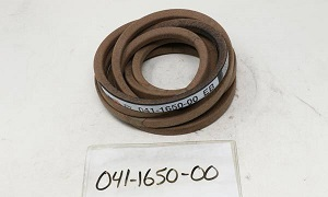 """041-1650-00 - B165 Deck Belt for 60"""" Pup/Lightning, ZT, & CZT"""