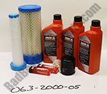 063-2000-05 - FX Kawasaki Engine Service Kit (2010-2011) Old Tapered Style Air Filter